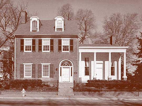 Alumni House, Old College Historic District, Newark, DE