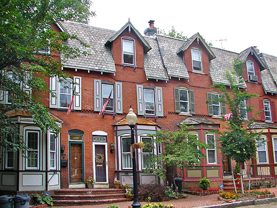 Homes in the Shipley Run Historic District, Wilmington, DE, National Register