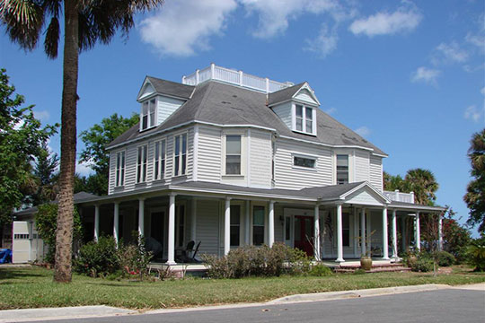 Wager House, ca. 1891, 621 Indian River Avenue, Titusville, FL, National Register