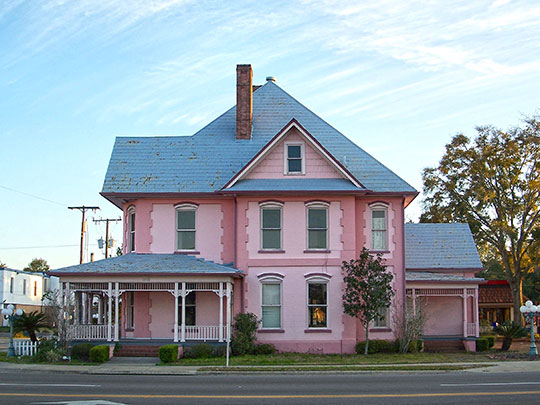 Horace Duncan House, ca. 1907, 202 West Duval Street, Lake City, FL, National Register