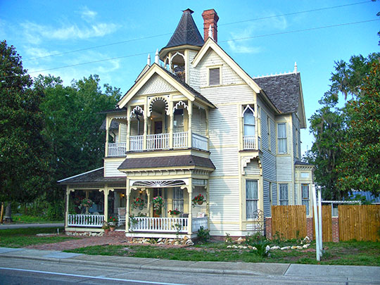 T.G. Henderson House (Henderson-Marcello House), ca. 1894, 207 South Marion Street, Lake City, FL, National Register