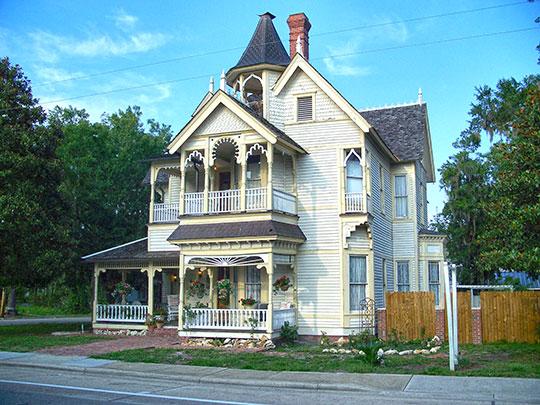 T.G. Henderson House (Henderson-Marcello House), ca. 1894, 207 South Marion Street, Lake City, FL, National Register