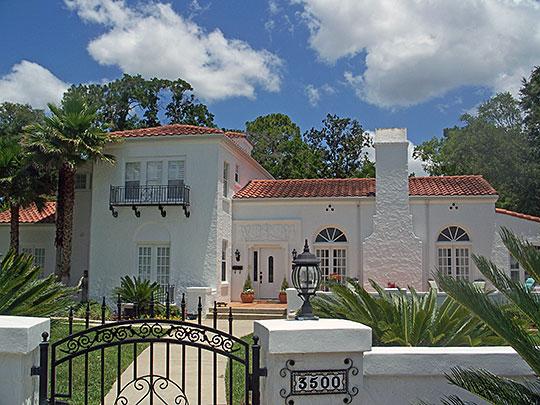 House at 3500 Via de la Reina, ca. 1925, San Jose Estates Multiple Resource Area, Jacksonville, FL, National Register