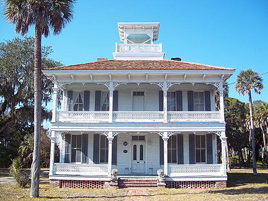 Napoleon Bonaparte Broward House, ca. 1878, 9953 Hecksher Drive, Jacksonville, FL, National Register