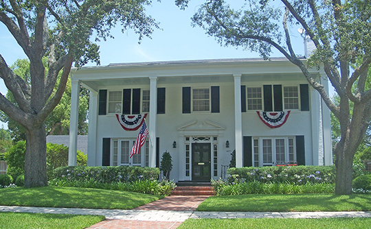 Home in the Avondale Historic District, Jacksonville, FL, National Register