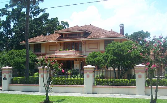 Home in the Riverside Historic District, Jacksonville, FL, National Register