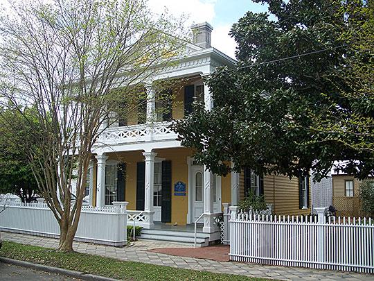 Clara Barkley Dorr House, ca. 1871, 311 South Adams Street, Pensacola, FL, National Register