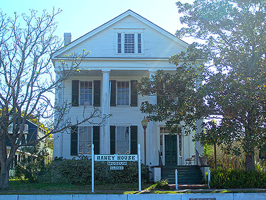 David G. Raney House, ca. 1840, 128 Market Street, Apalachicola, FL, National Register