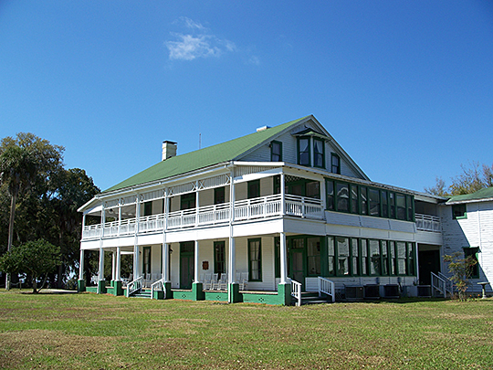 The Chinsegut Hill Manor House, ca. 1840s, 22495 Chinsegut Road, Brooksville, Hernando County, Fl