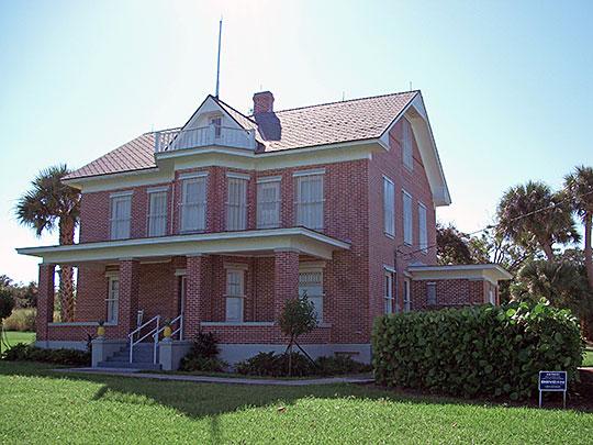 Hallstrom House (Hallstrom Farmstead), ca. 1909, 1723 Southwest Old Dixie Highway, Vero Beach, FL, National Register