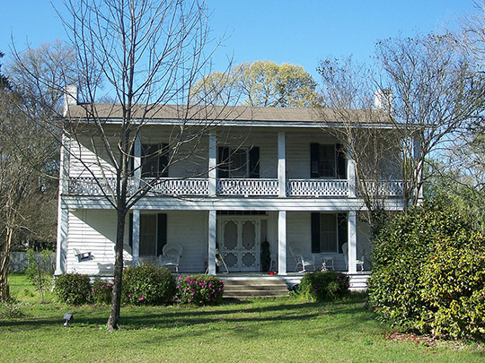 Erwin House, ca. 1840, Fort Road, Greenwood, FL, National Register