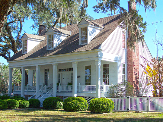 Asa May House, ca. 1840, junction of Routes 19 & 27, Capps, FL, National Register