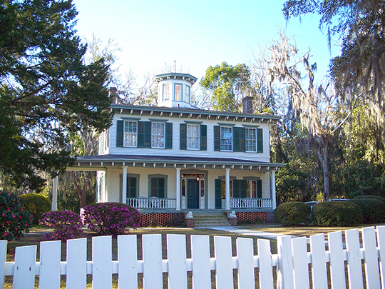 Denham-Lacy House, ca. 1874, 555 Palmer Mill Road, Monticello, FL, National Register