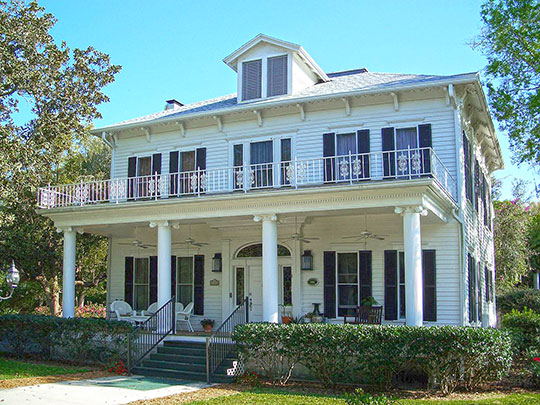 Gould Hyde Norton House, ca. 1881, 1390 East Lakeview Drive, Eustis, FL, National Register