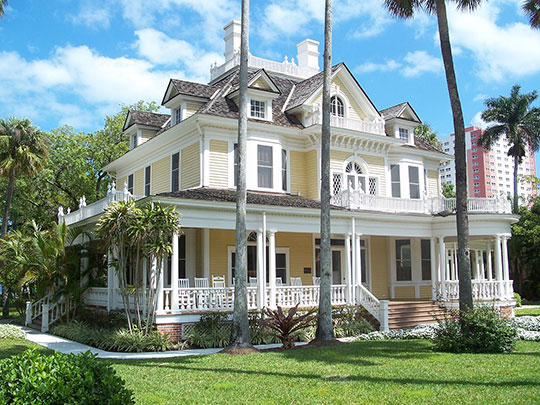 Murphy-Burroughs House, ca. 1901, 2505 First Street, Fort Myers, FL, National Register
