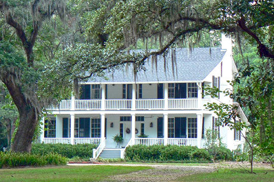 Bannerman Plantation House, ca. 1847, 13426 N. Meridian Road, Tallahassee, FL, National Register