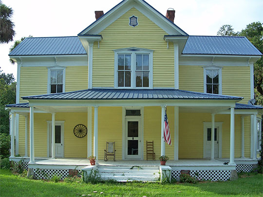 Alfred Ayer House, CA. 1885, U.S. Routes 27/441, Ocklawaha, FL, National Register