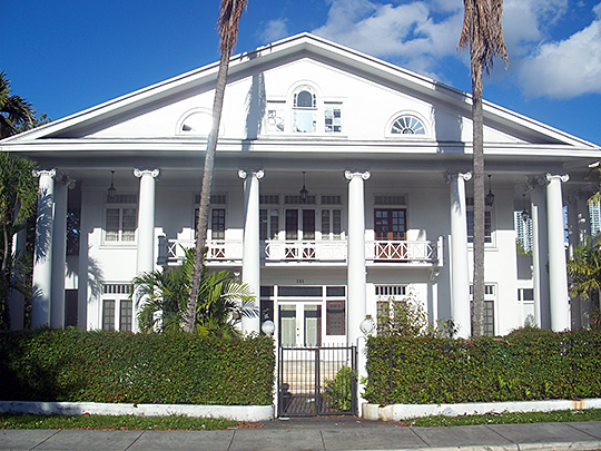 J. W. Warner House, ca. 1912, 111 Southwest 5th Street, Miami, Fl, National Register