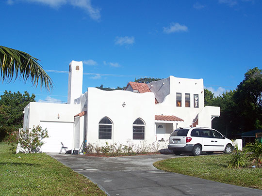 Long House, Opa-Locka, Miami-Dade County, Fl