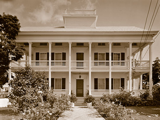Captain John Lowe, Jr. House, ca. 1857-1867, 620 Southard Street, Key West, FL.