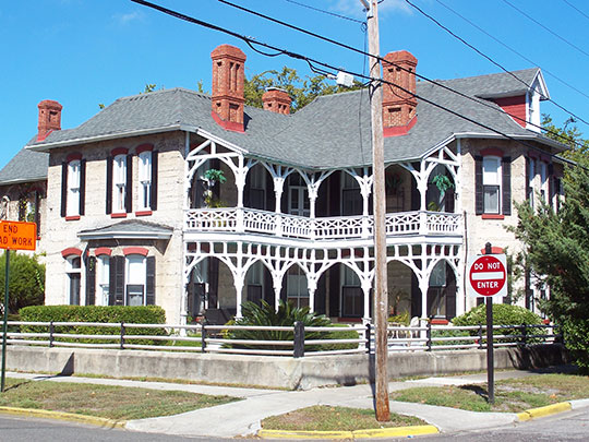 Tabby House, ca. 1885, 27 South 7th Street, Fernandia Beach, FL, National Register