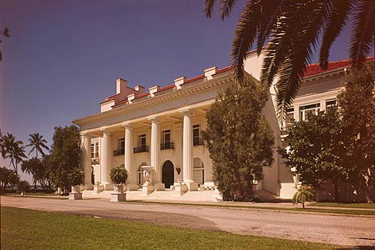 Henry M. Flager Mansion, ca. 1900-1902, 1900 Whitehall Way, Palm Beach, FL