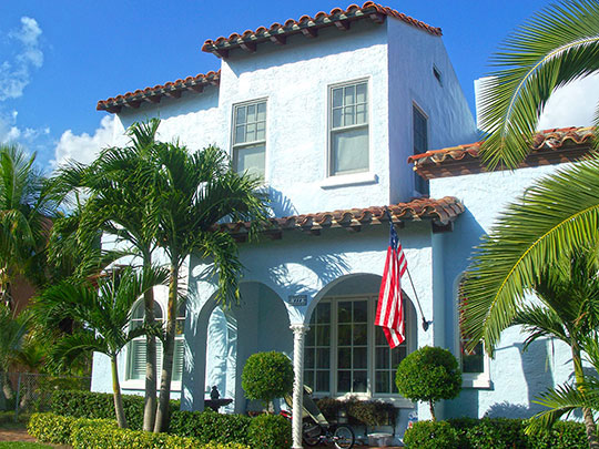Home in the Flamingo Park Residential Historic District, West Palm Beach, FL, National Register