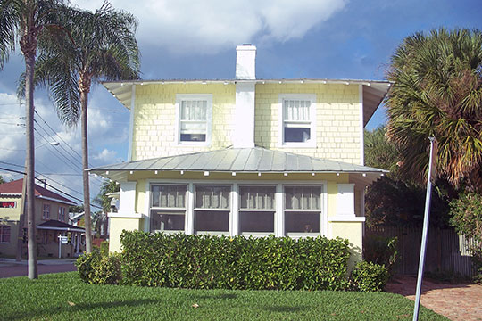 Home in the Mango Promenade Historic District, West Palm Beach, FL, National Register District