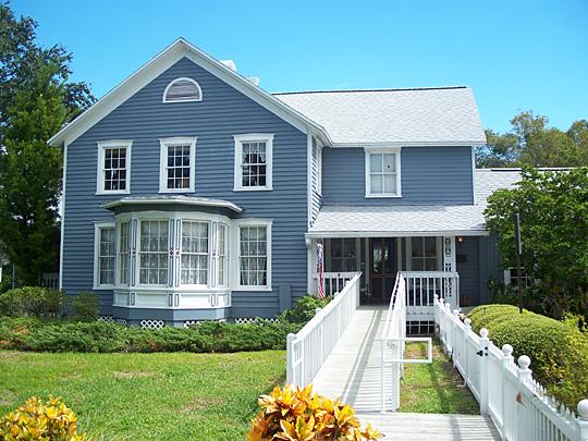 J. O. Douglas House, 209 Scotland Street, Dunedin FL