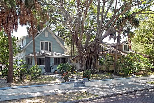 Homes in the Roser Park Historic District, St. Petersburg, FL, National Register