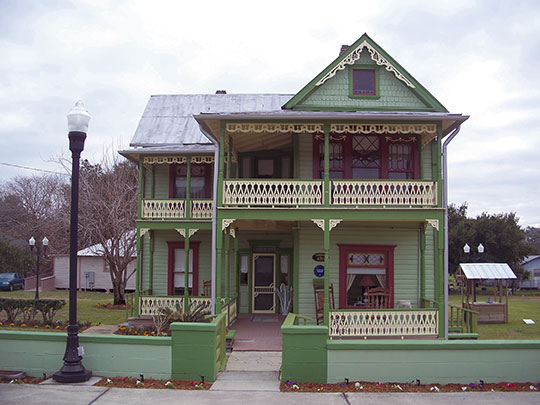Lawrence Brown House, ca. 1892, 470 Second Avenue, Bartow, FL, National Register