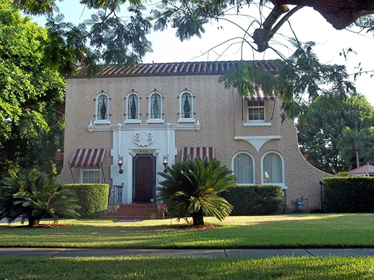 Corrigan House (Nagirroc), 463 Sapphire Drive, Sarasota, FL, National Register