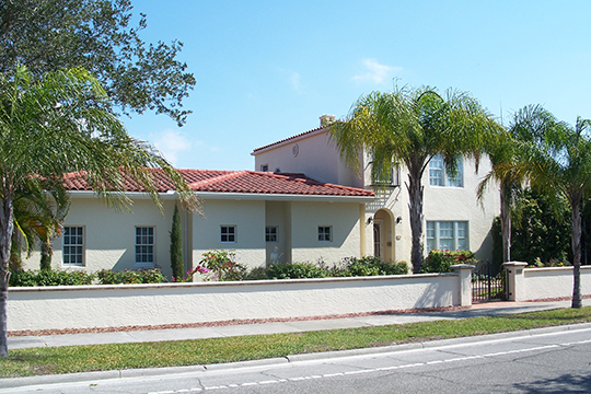 Blalock House, ca. 1925, 241 South Harbor Drive, Venice, FL, National Register