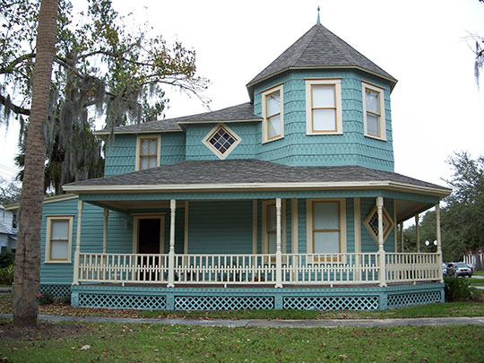 Home,Sanford Residential Historic District, National Register, Sanford, FL.