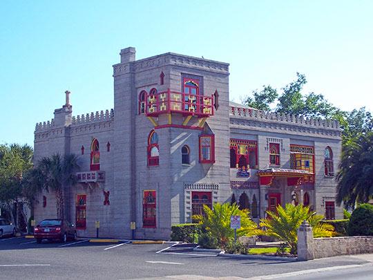 Villa Zorayda, ca. 1883, 33 Old Mission Avenue, St. Augustine, FL, National Register