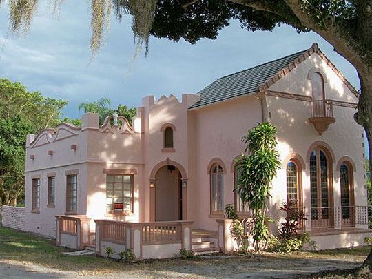 Jules Frere House, ca. 1931, 2404 Sunrise Boulevard, St. Lucie, FL, National Register