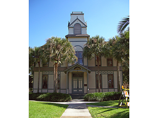 DeLand Hall, ca. 1884, Stetson University Campus, DeLand, FL, National Register