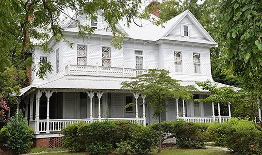 C. W. Deen House, ca. 1897, 413 North Main Street, Baxley, GA, National Register