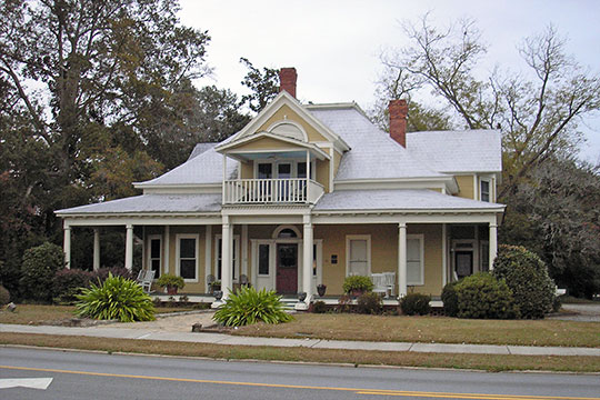 William G. Raines House, ca. 1904, 106 South Main Street, Statesboro, GA, National Register