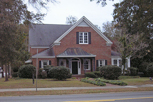 James Alonzo Brannen House, ca. 1881, 112 South Main Street, Statesboro, GA, National Register