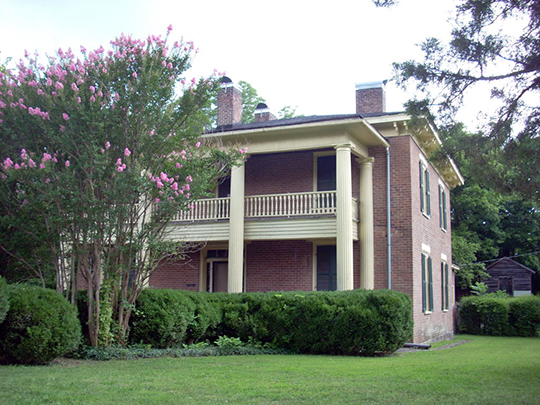 Whitman-Anderson House, ca. 1858, 309 Tennessee Street, Ringgold, GA, National Register