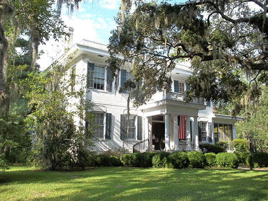 2 Pierpont Circle, ca. 1920, Savannah, GA, national Register
