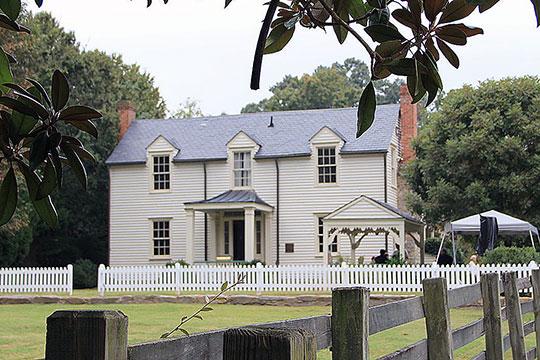 Donaldson-Bannister House, ca. 1870, 4831 Chamblee-Dunwoody Road, Dunwood, GA.