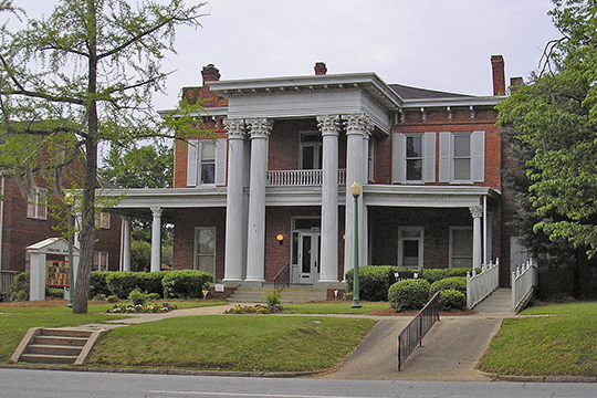 John A. Davis House, ca. 1853, 514 Pine Avenue, Albany, GA, National Register