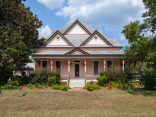 Home on First Avenue, ca. 1890, Twin City Historic District (Summit Section), Twin City, GA, National Register