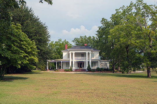 Home at 921 5th Avenue, ca. 1908, Twin City Historic District, Twin City, GA, National Register