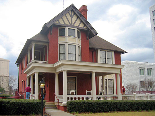 Margaret Mitchell House and Museum (Crescent Apartments), ca. 1899, 990 Peachtree Street, Atlanta, GA, National Register