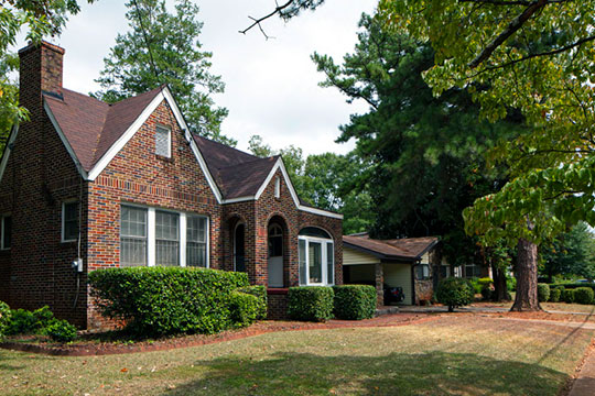 Homes in the 500 Block of Shannon Avenue, NW, Capitol View Manor Historic District, Atlanta, GA, National Register