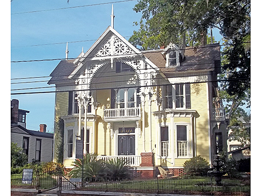 Mahoney-McGarvey House, ca. 1891, 1709 Reynolds Street, Old Town Historic District, Brunswick, GA