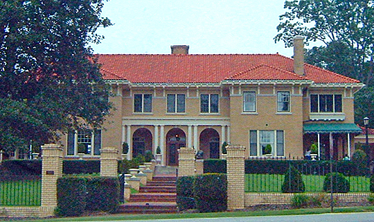 Bona Allen House, ca. 1912, 395 Main Street, Buford, GA, National Register